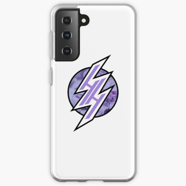 HENTAI HAVEN PURPLE PASTEL FLORAL Coque souple Samsung Galaxy
