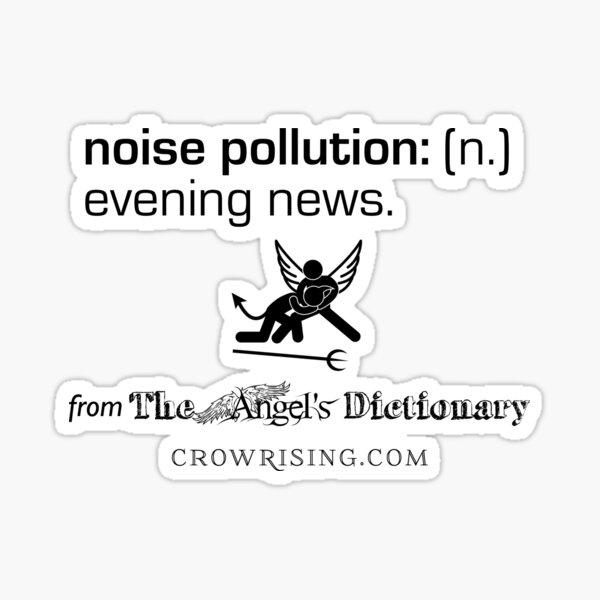 Noise Pollution Sticker