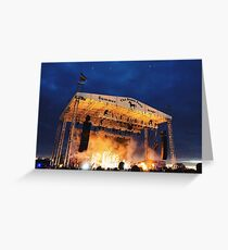 Nights At The Stone Pony Greeting Card