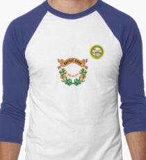 Nevada flag Men's Baseball ¾ T-Shirt
