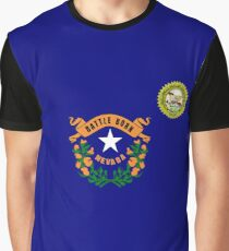 Nevada flag Graphic T-Shirt