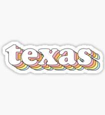 Groovy Texas Sticker