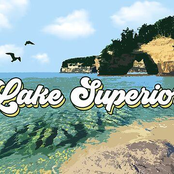 Lake Superior Retro de GreatLakesLocal