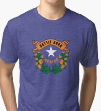 Nevada flag Tri-blend T-Shirt