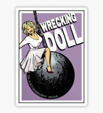 Wrecking Doll Sticker