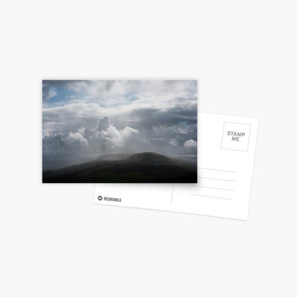 Wensleydale Rainstorm Postcard
