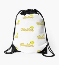 Just A Baller From Idaho Drawstring Bag