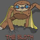 The Sloth in Action by SlothComics