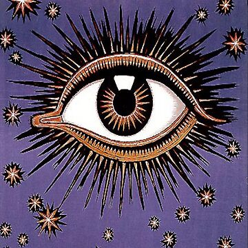 EYE AND STARS by TOMSREDBUBBLE