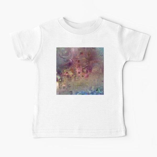 Crystalline Squares 6 Baby T-Shirt