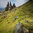 Old Man of Storr by Peter Clarke