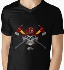 Firefighters and Firemen - Jolly Rotten Men's V-Neck T-Shirt