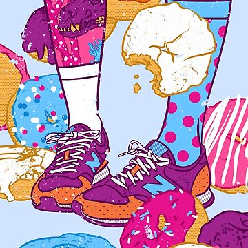 Don't step over donuts by Chuvardina