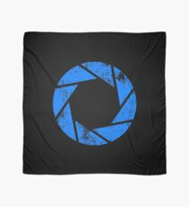 Aperture Science (Blue) Logo · Distressed Scarf