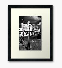 Brocas street Framed Print