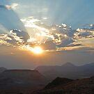 Sunrise in the Nevada Desert by Jared Manninen