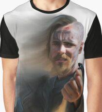 Halfdan The Black Graphic T-Shirt