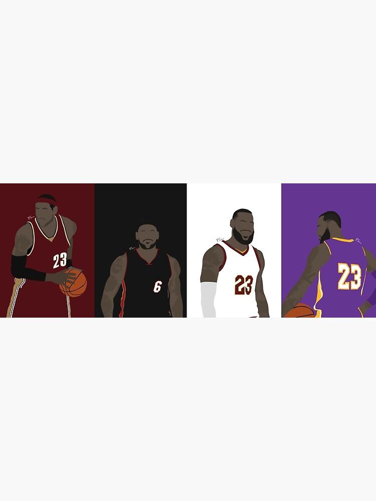 LeBron James Career by RTurnerDesigns