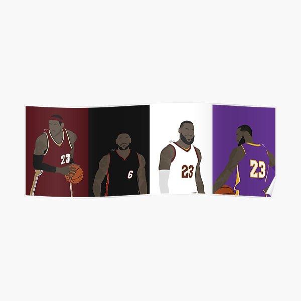 LeBron James Career Poster