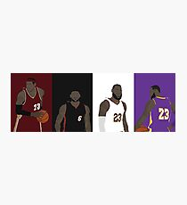 LeBron James Career Photographic Print