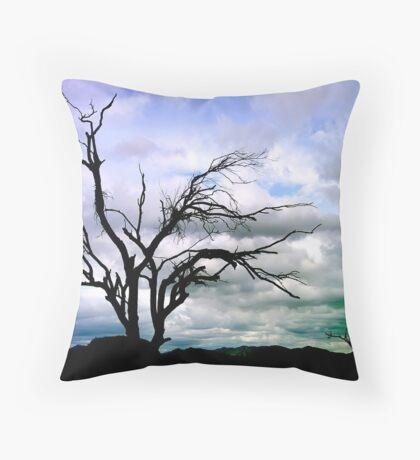 Gloomy Scottsdale Throw Pillow