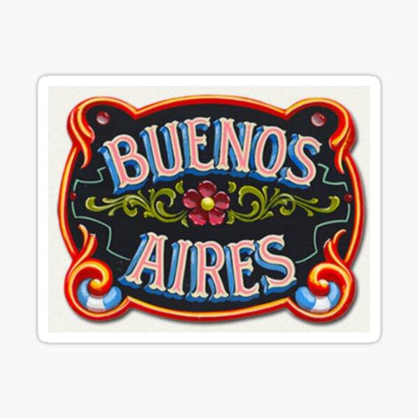 Buenos Aires Sticker