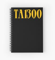Denzel Curry TABOO | TA13OO Spiral Notebook