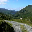 The Road To The Valley - North Wales by Trevor Kersley