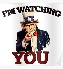 NSA is watching you Poster