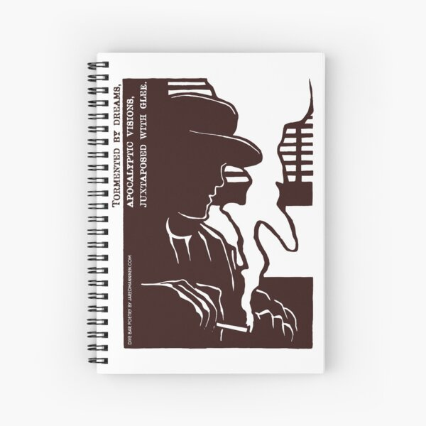 Dive Bar Poetry Spiral Notebook
