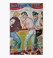 Pulp Fiction / Bottoms Up Photographic Print