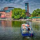 Boating on the Avon by Viv Thompson
