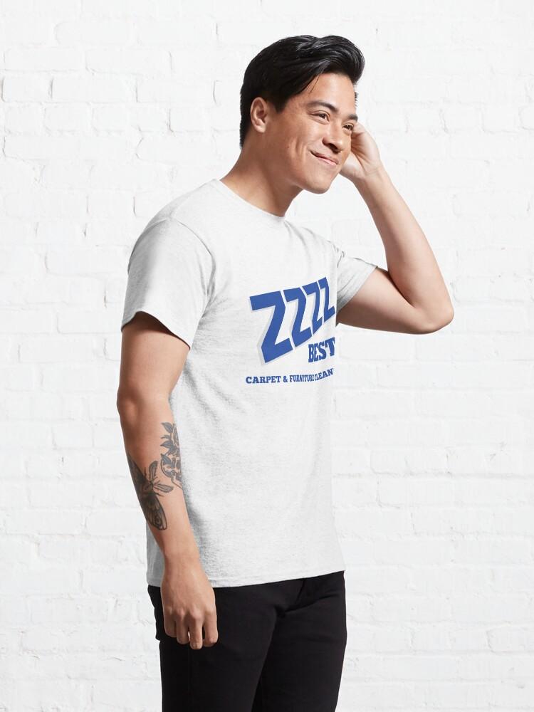 Alternate view of ZZZZ BEST CARPET CLEANING T-SHIRT - Barry Minkow Ponzi Scheme Shirt Classic T-Shirt