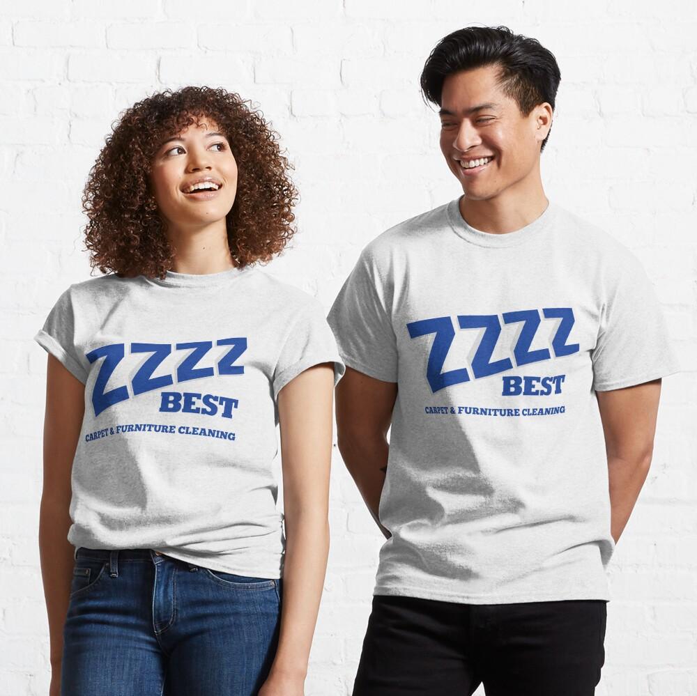ZZZZ BEST CARPET CLEANING T-SHIRT - Barry Minkow Ponzi Scheme Shirt Classic T-Shirt