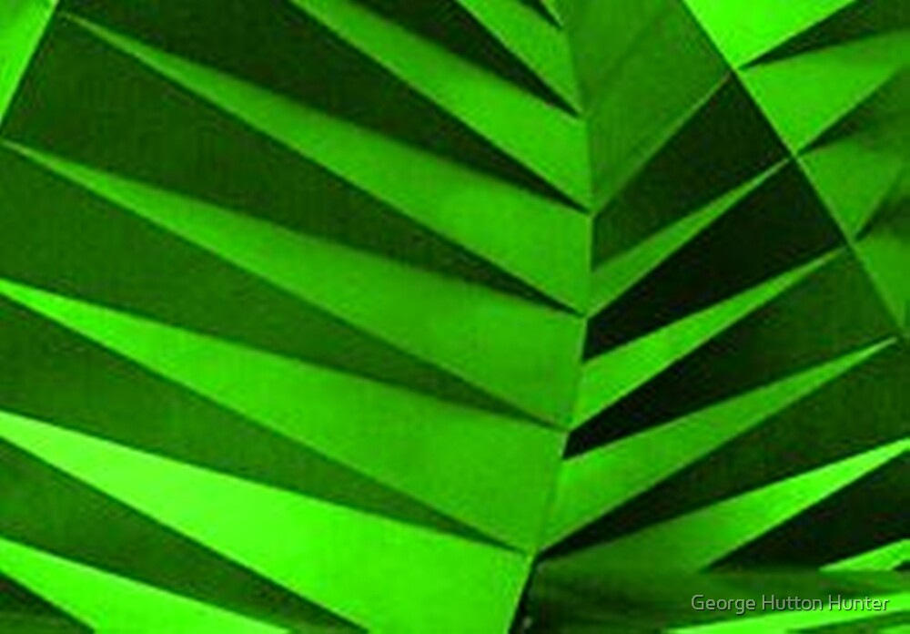 Green Zebra Leaves by George Hunter