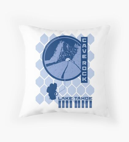 Cave Rock (Through the Looking Glass) Throw Pillow