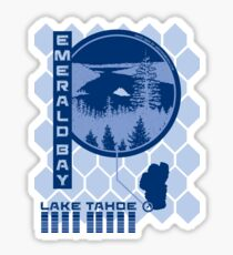 Emerald Bay (Through the Looking Glass) Sticker