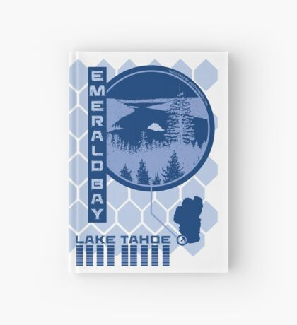 Emerald Bay (Through the Looking Glass) Hardcover Journal