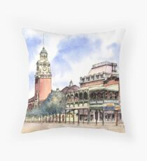 Post Office Tower ,Hannan St, Kalgoorlie. West Australia. Throw Pillow