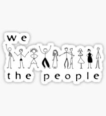 We, the people Sticker