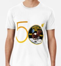 Apollo 11: 50. Jahrestag Patch Premium T-Shirt
