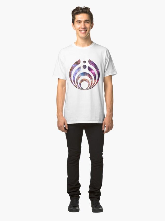 Alternate view of Bassnectar Galaxy Classic T-Shirt