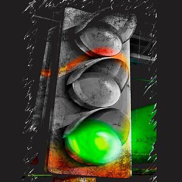 green light, T Shirt Sign by VitorMacedo