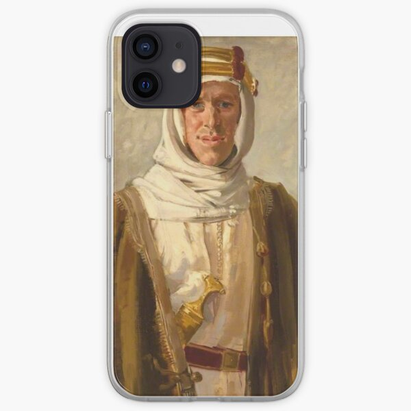 Lawrence of Arabia. Colonel T. E. Lawrence. Augustus John. 1919. iPhone Soft Case