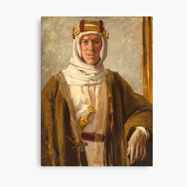 Lawrence of Arabia. Colonel T. E. Lawrence. Augustus John. 1919. Canvas Print