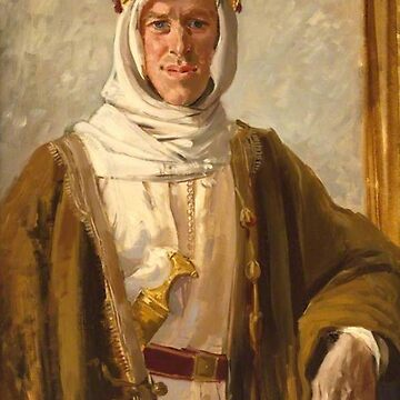 Lawrence of Arabia, Colonel T. E. Lawrence, Augustus John, Date: 1919 by TOMSREDBUBBLE