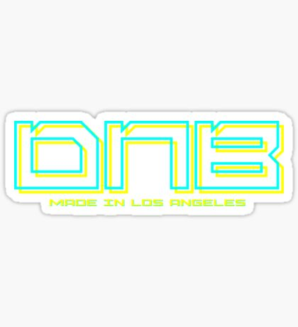 DNB Made In Los Angeles Sticker