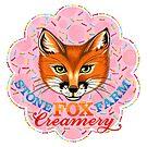 Stone Fox Farm Creamery Summer T Shirt by PatriciaSheaArt