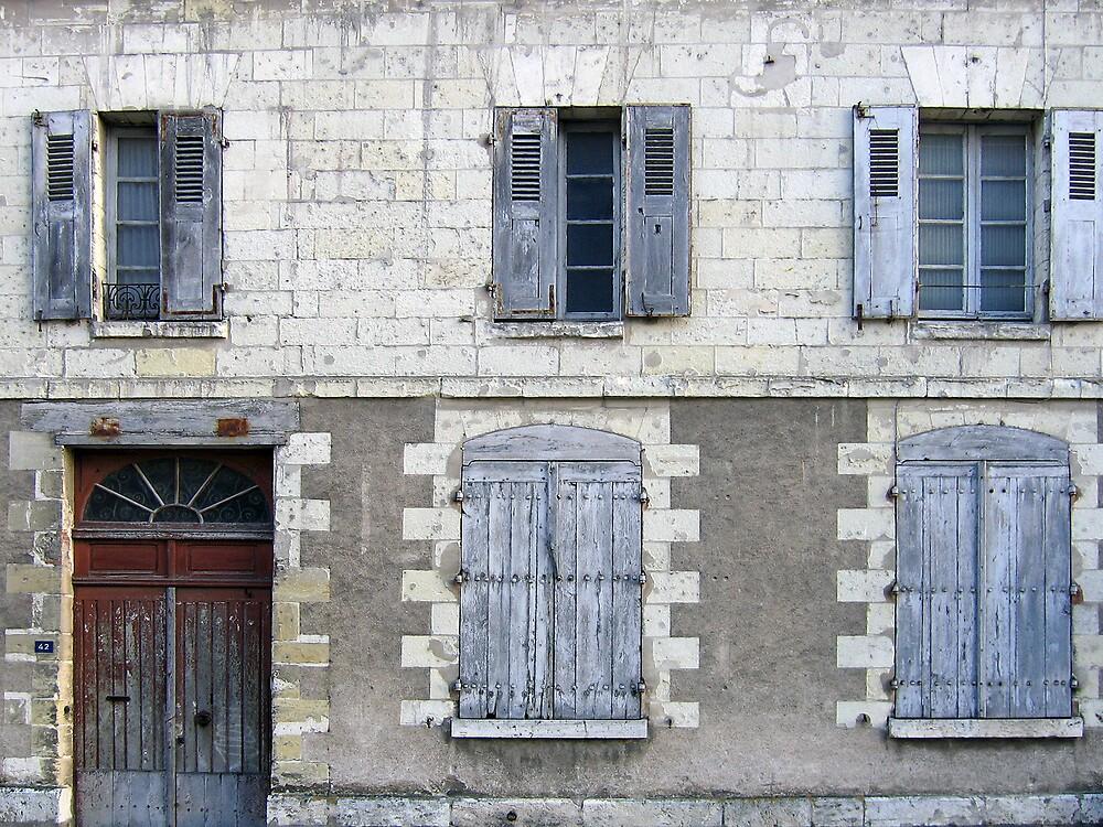 Streets of Amboise, Loire Valley, France by Michael Varakin