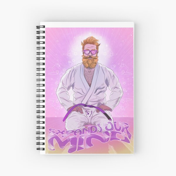 Expand Your Mind Spiral Notebook